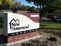 New Homestead sign