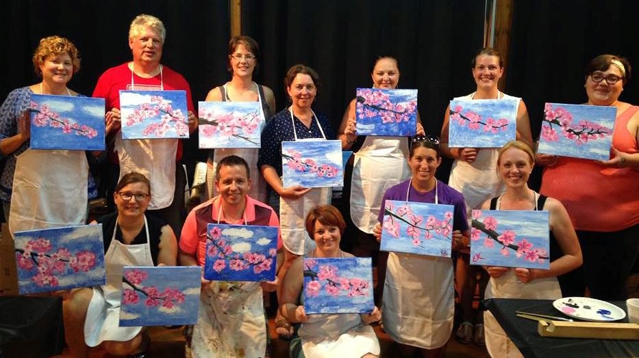 paint and sip class2