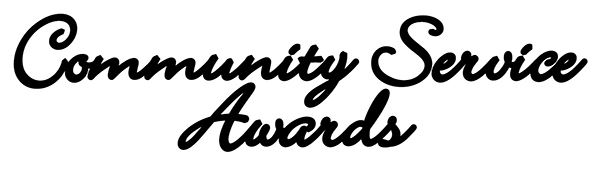 Community Service Awards title
