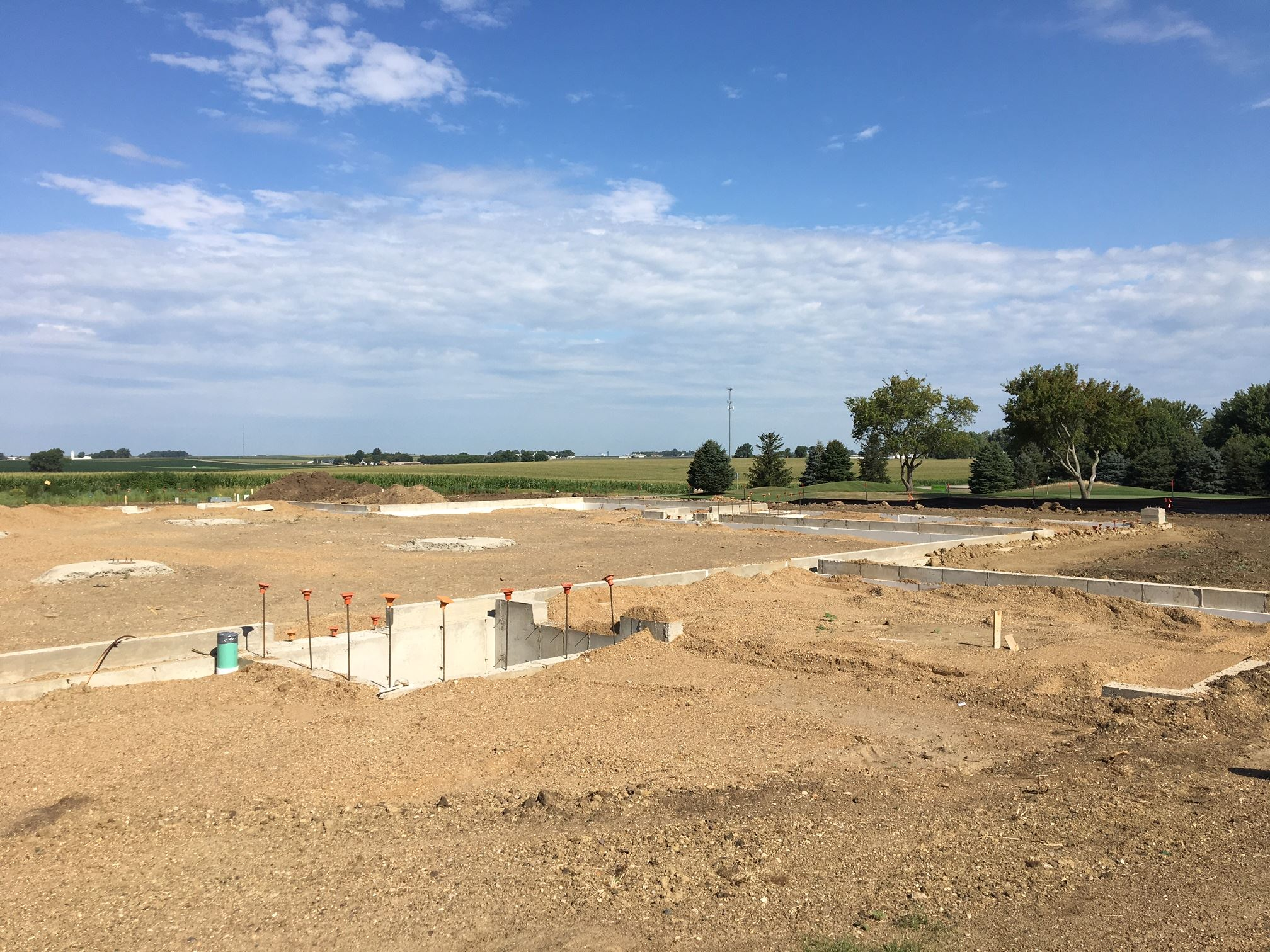 4 Brothers Bar and Grill construction site in Sioux Center