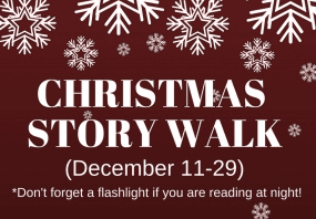 library christmas walk