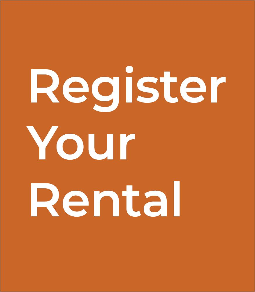 Register your rental