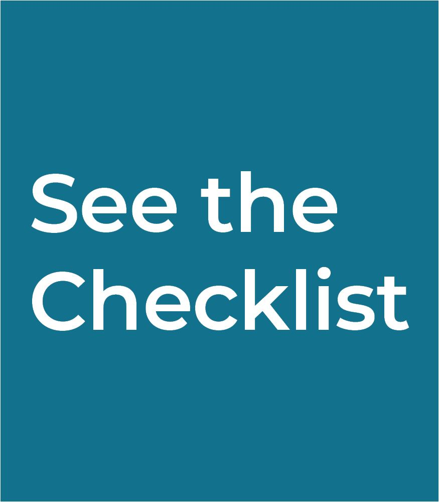 See the Rental Checklist