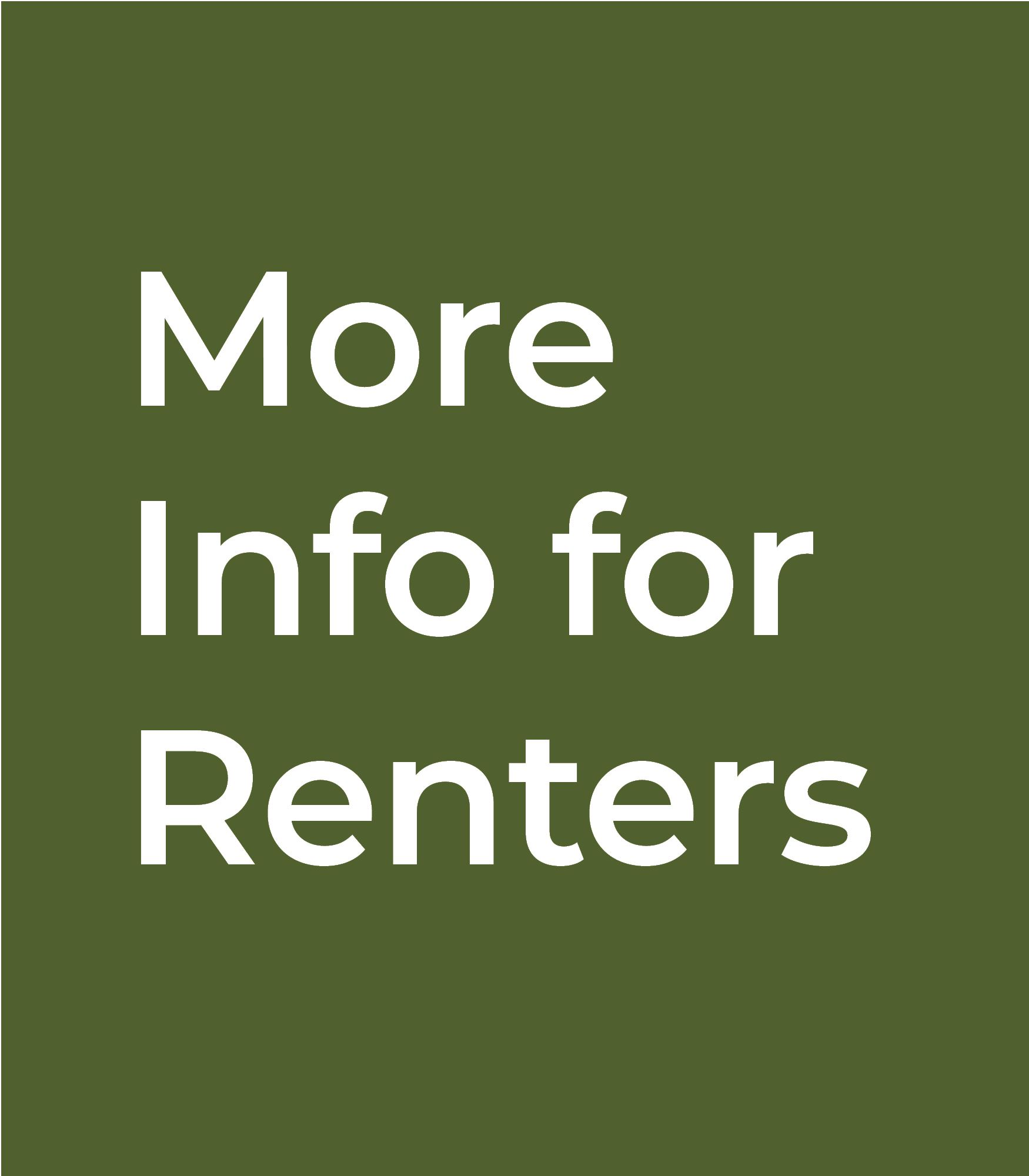 Information for Renters
