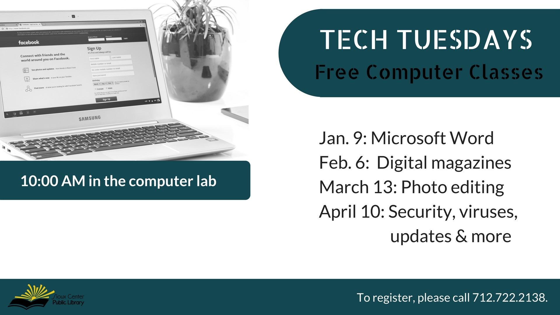TECH TUESDAYS 2018
