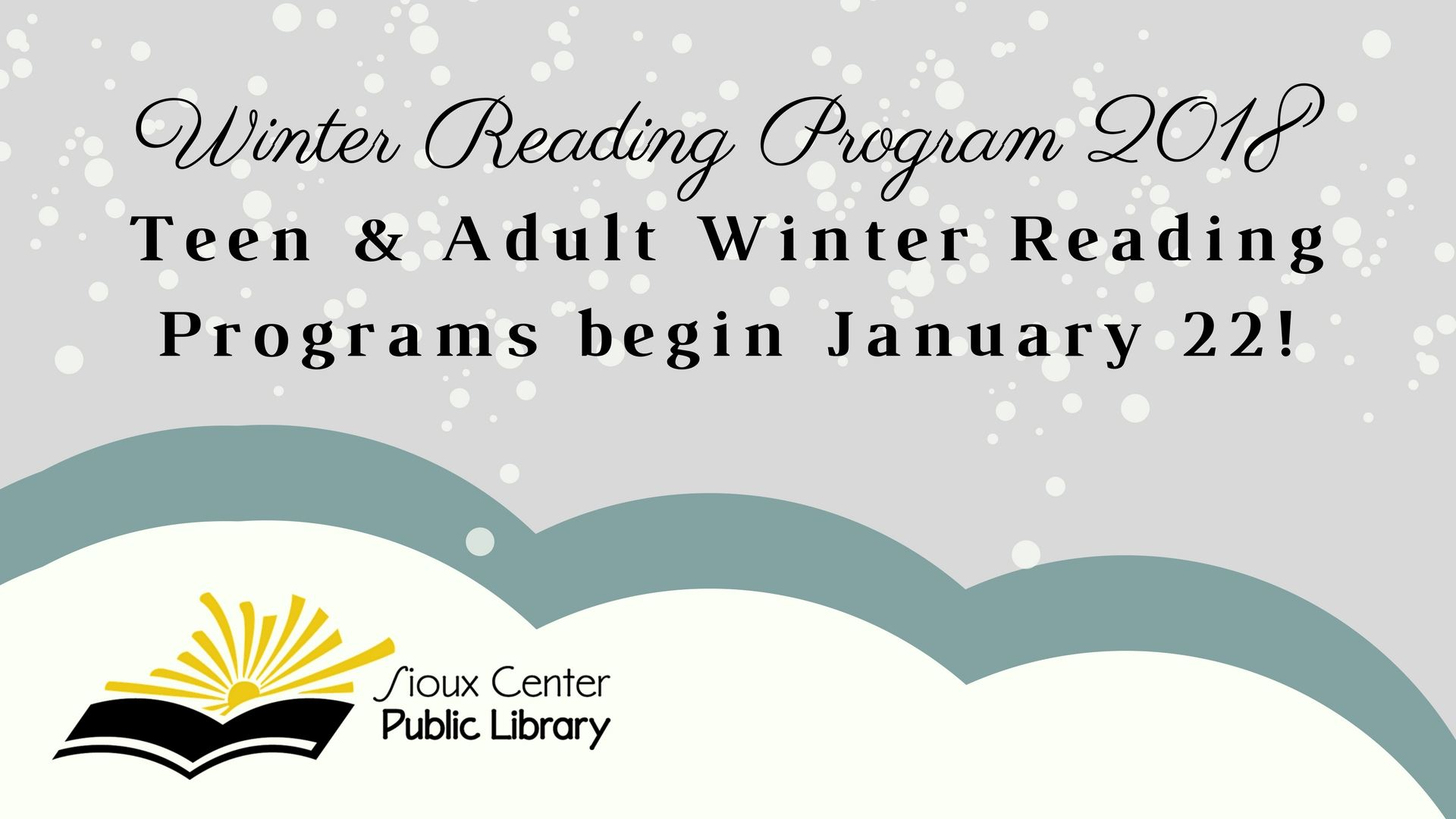 Winter Reading Program 2018
