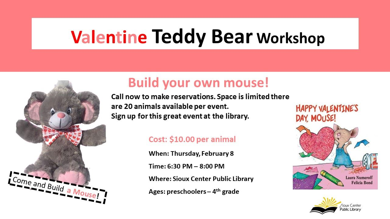 Valentine Build a Mouse