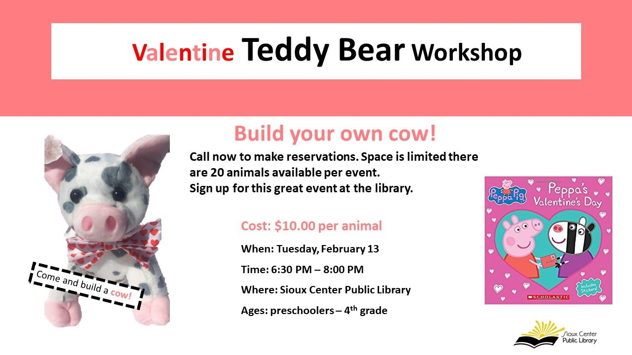 Valentine Build a cow