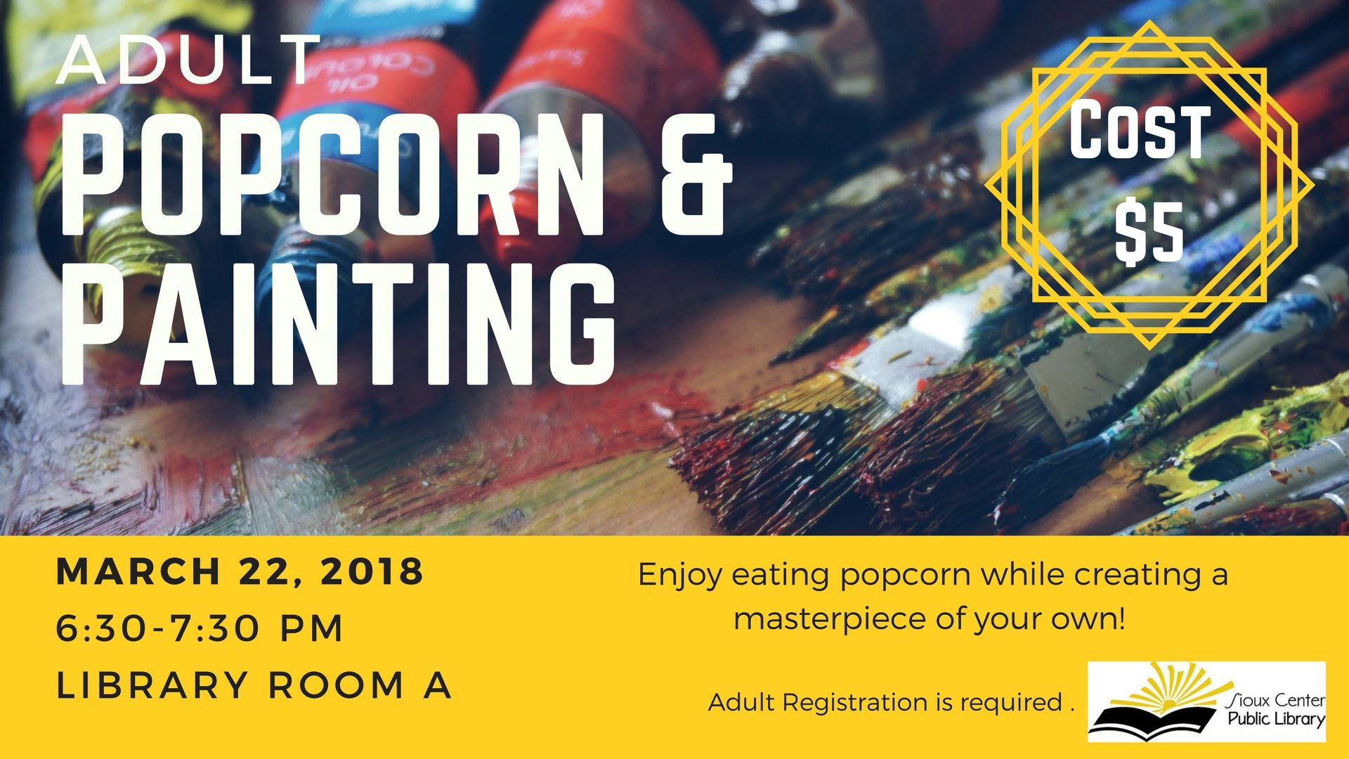 popcorn and painting