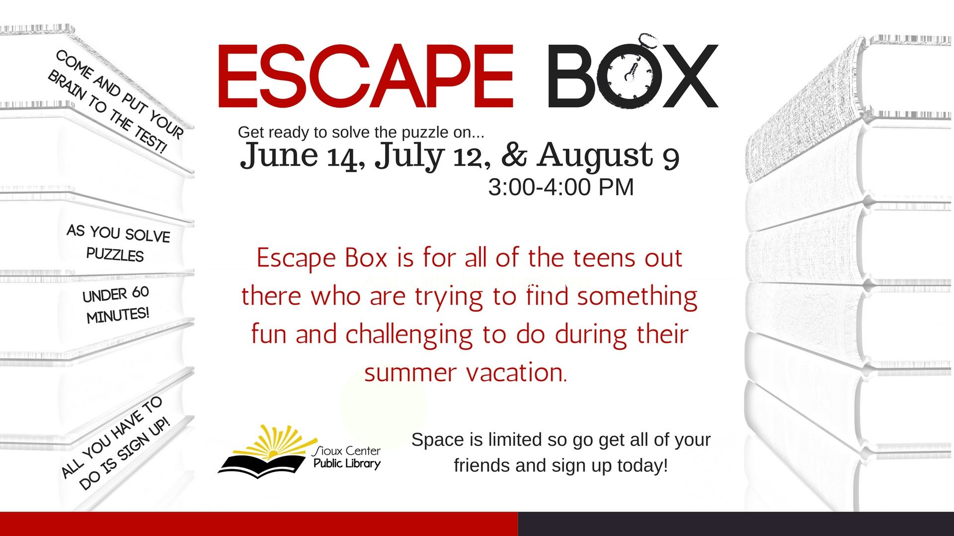 Escape Box Slide 2018