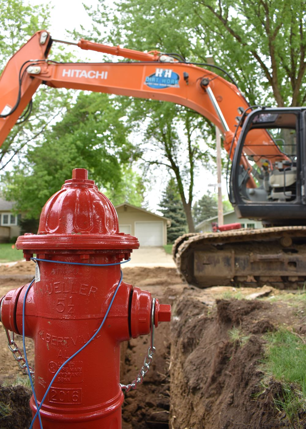East First street water main replacement