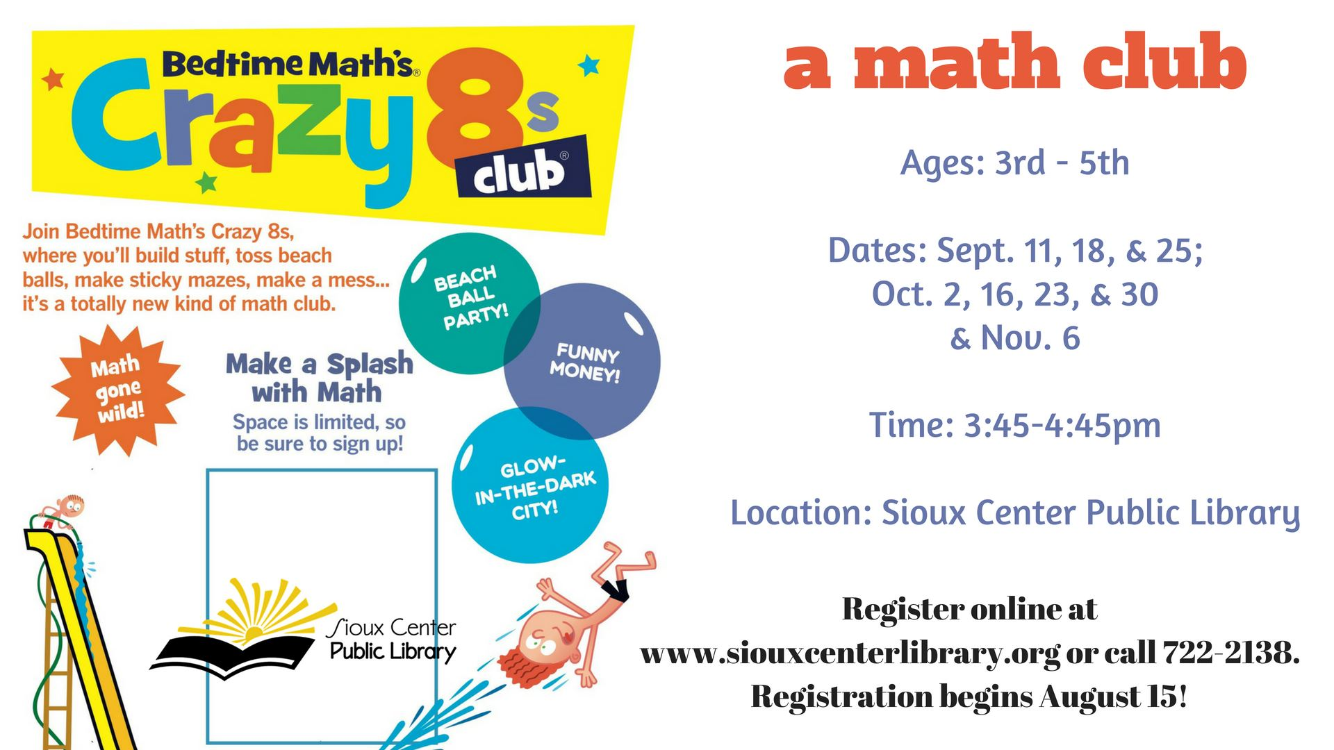 Crazy 8 Math Season Fall
