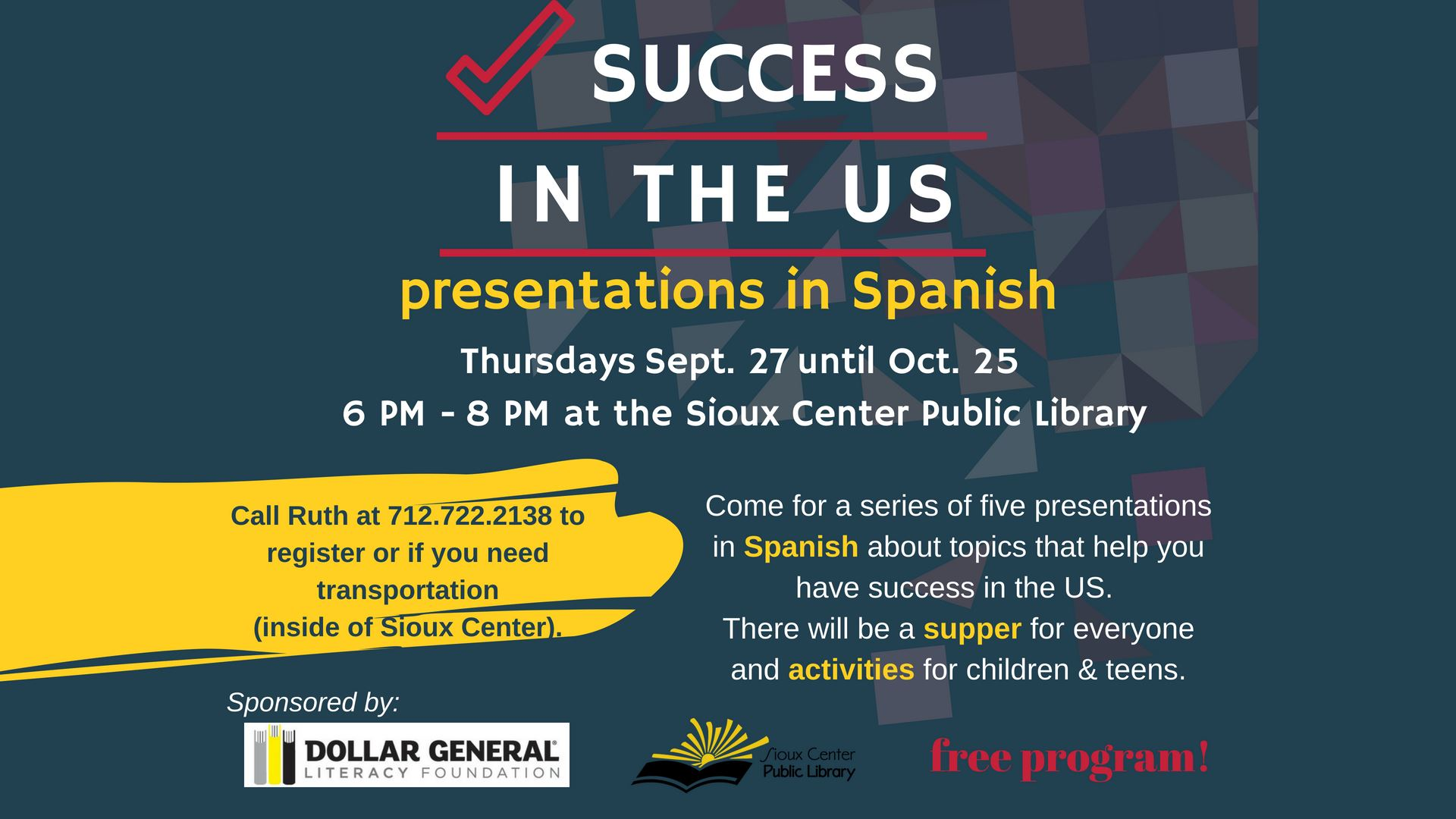 success in the US - English