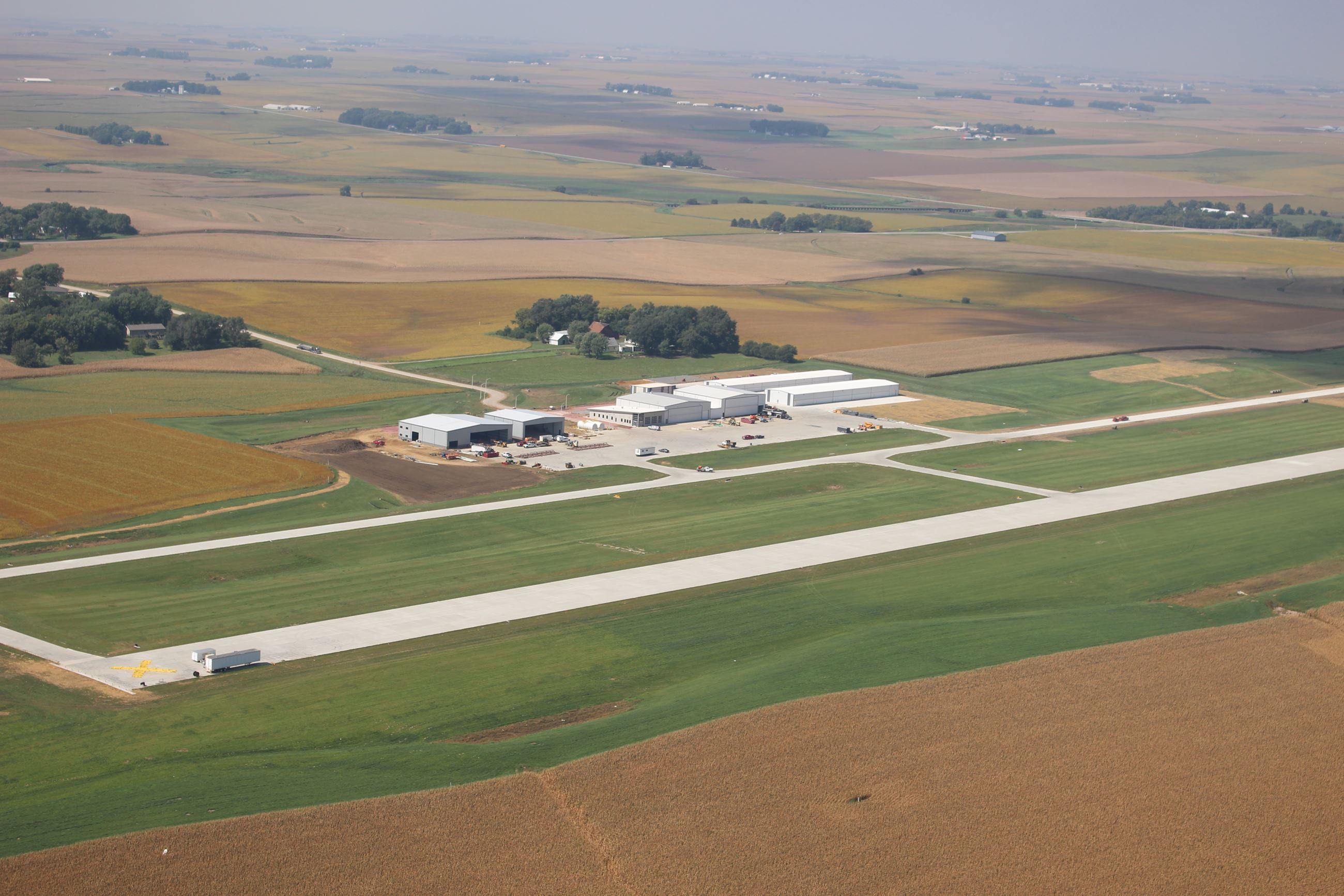 Sioux County Regional Airport aerial photo