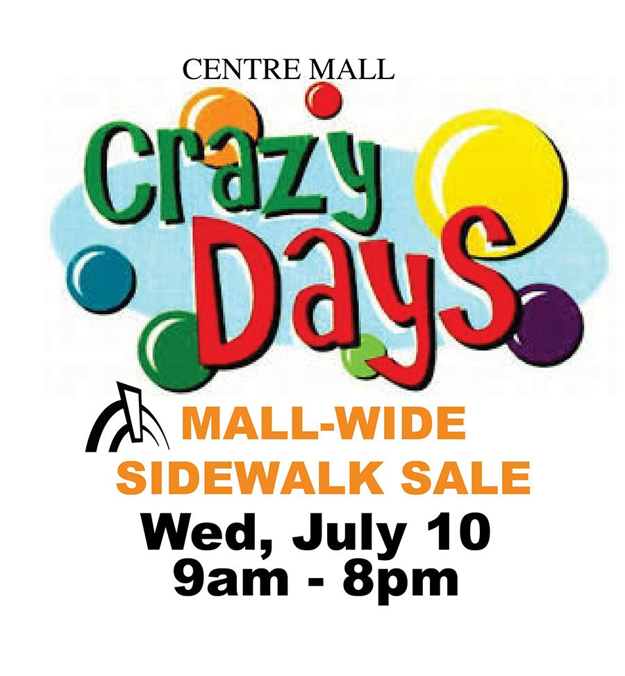crazy days sale 2019