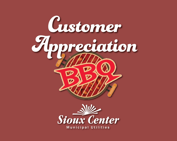 Customer Appreciation BBQ sign