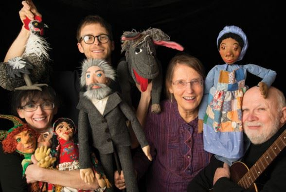 People and puppets