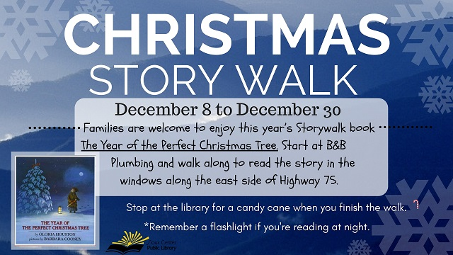 christmas story walk 2016 slide smalljpg - The Year Of The Perfect Christmas Tree